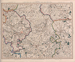 Cary's Improved Map of England and Wales (Sheet 33)